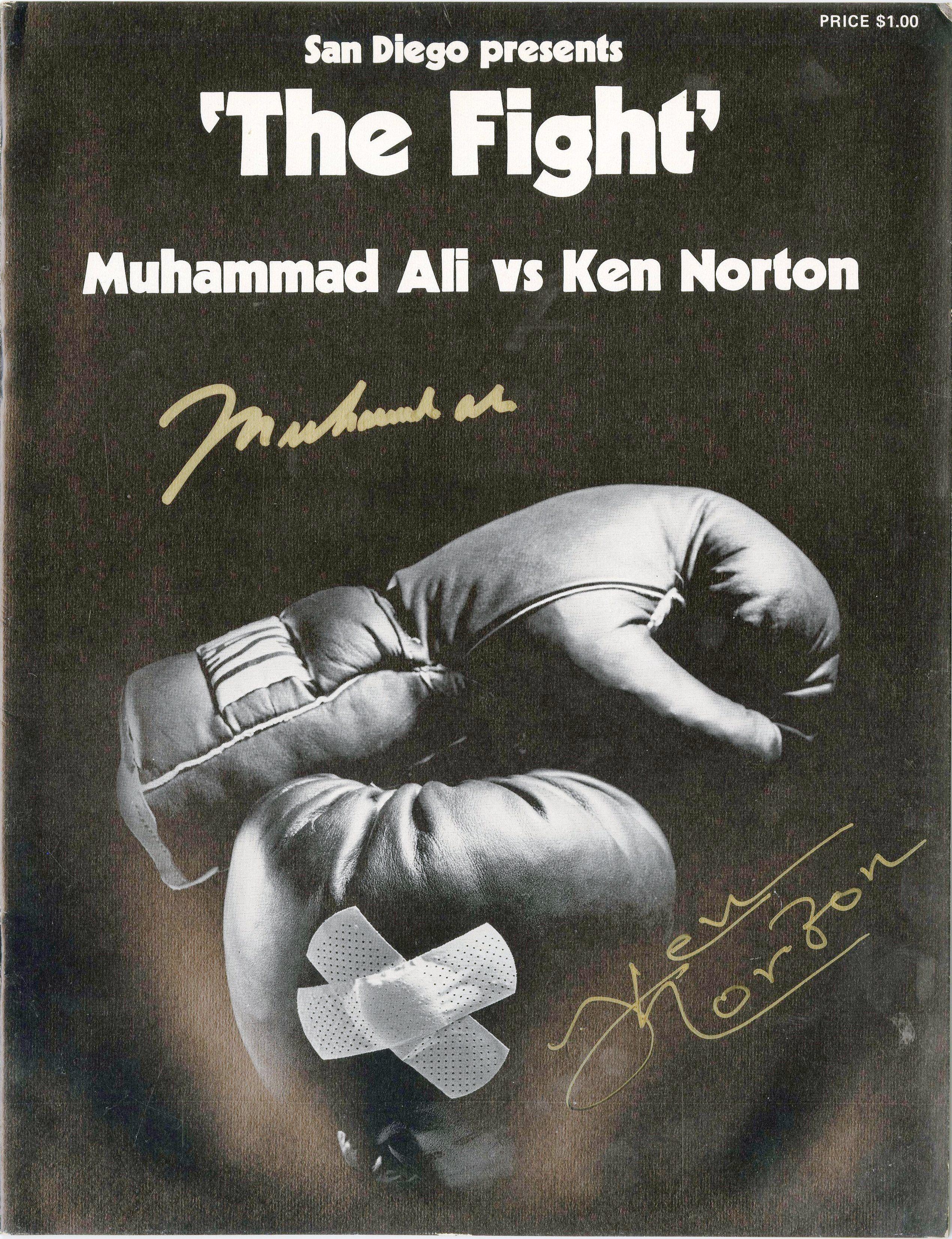 FIGHT PROGRAMS NORTON-ALI I