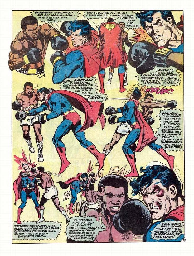 Muhammad Ali and Superman