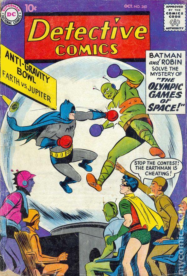 NEWBoxing Comic Another Batman.