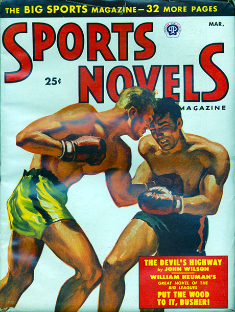 NEWBoxing Comic Book Pulp Fiction