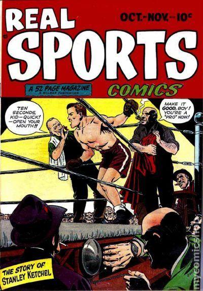 NEWBoxing Comic Book Stanley Ketchel.