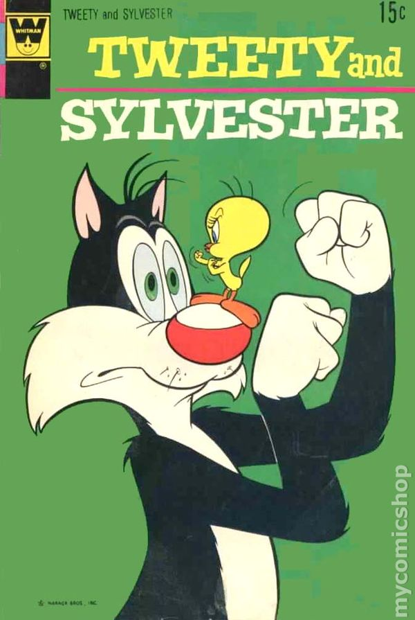 NEWBoxing Comic Book Tweety and Sylvester.