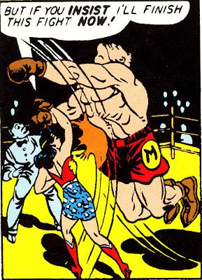 NEWBoxing Comic Wonder Woman.