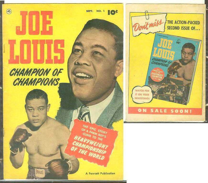 NEWComic Book Joe Louis.