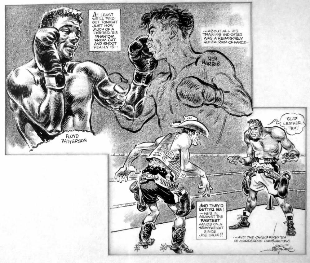 USABNWEBNOVFloyd Patterson vs. Roy Harris Cartoon.
