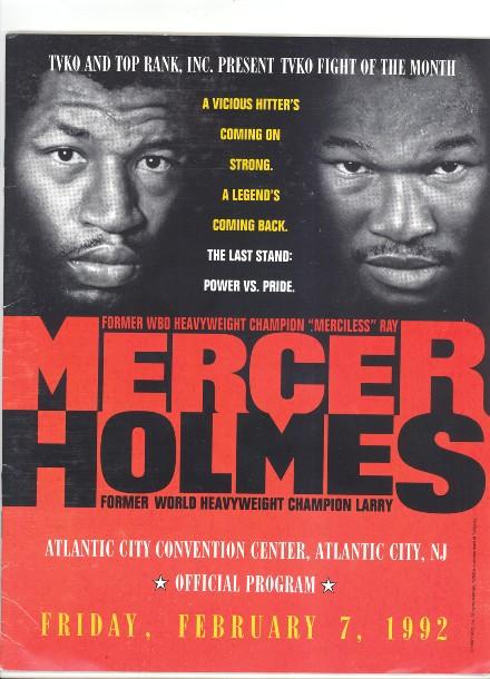 Fight Program - Holmes-Mercer.