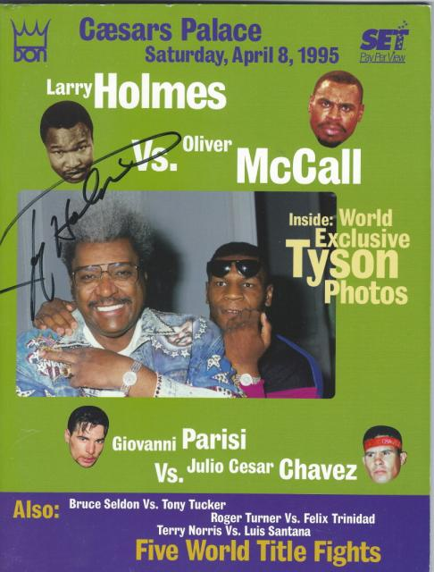 Fight Program - McCall-Holmes.