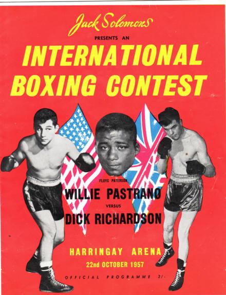 Fight Program - Pastrano-Richardson.