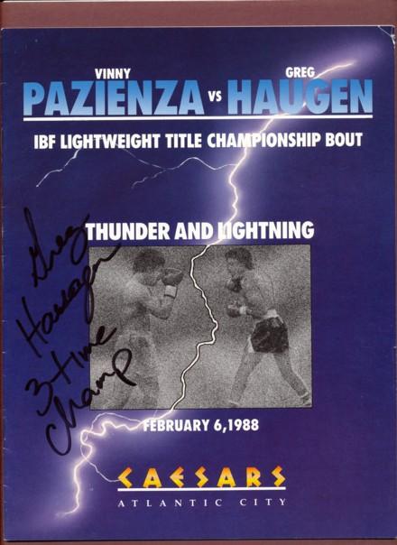 Fight Program - Pazienza-Haugen II.