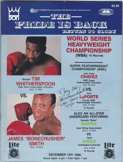 Fight Program - Whitherspoon-Smith.