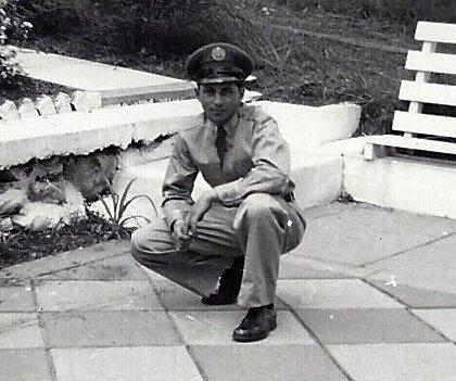 Joseph Rinaldi after his tour of duty in Korea.