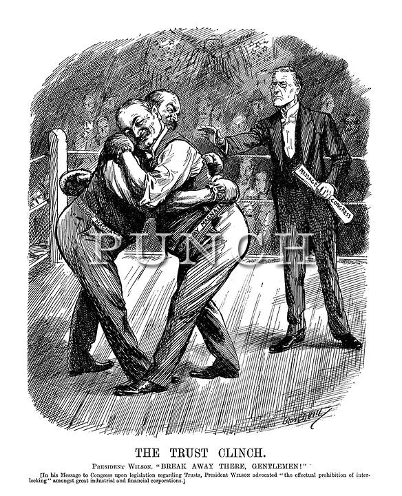 Cartoon political boxing cartoon 15.