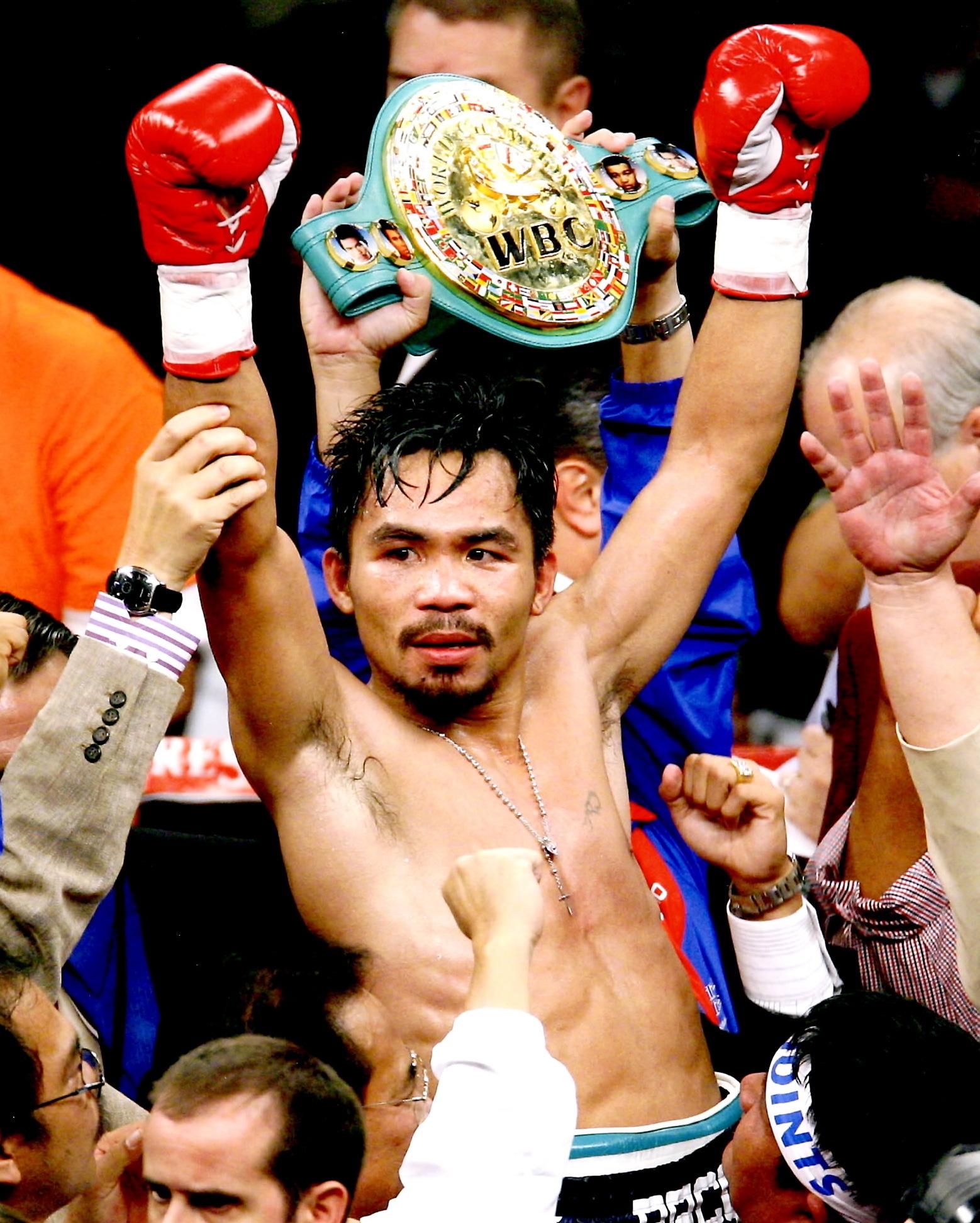 "Manny ""Pac Man"" Pacquiao"