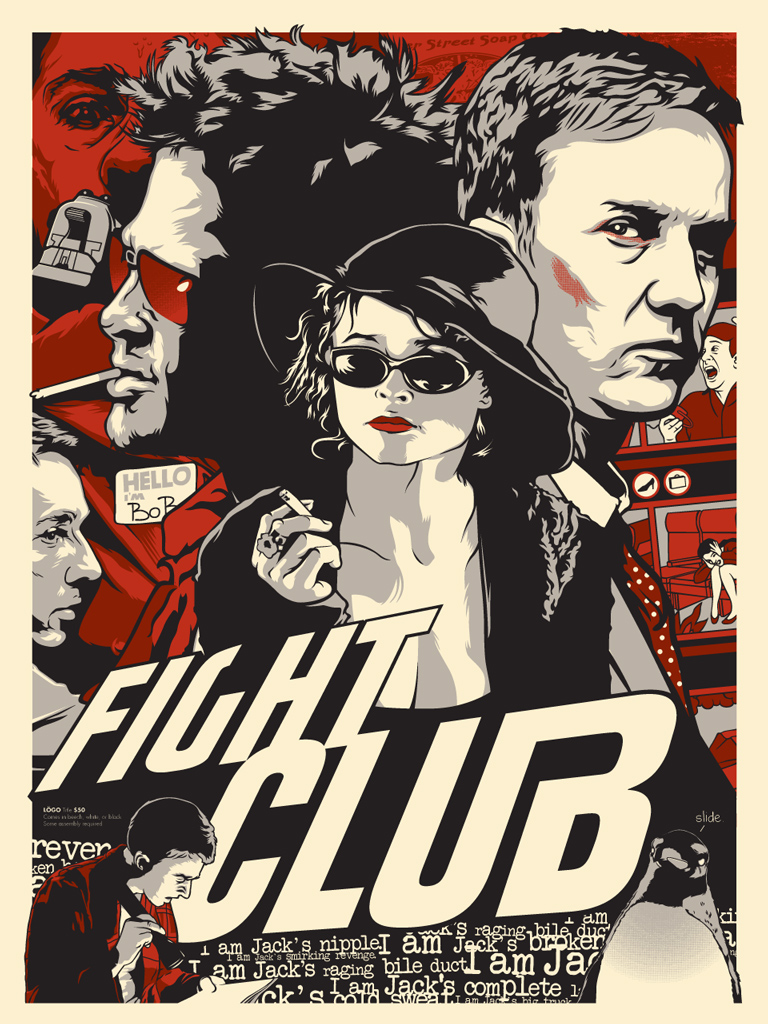 Fight Poster - Fight Club Additional Design.