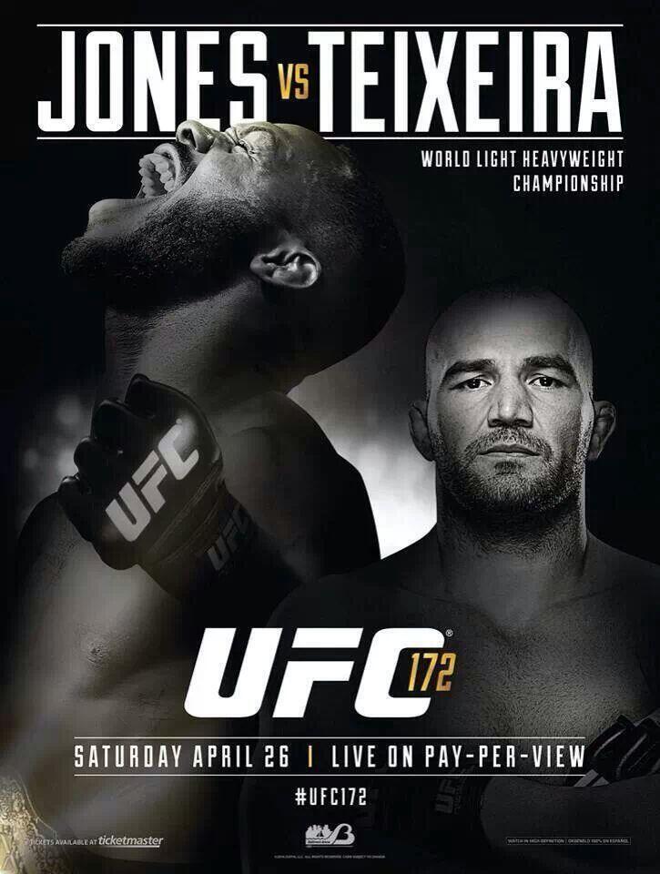 Fight Poster - Jones-Teixeira.