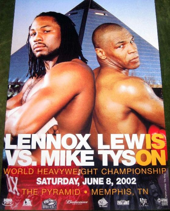 Fight Poster - Lewis-Tyson.