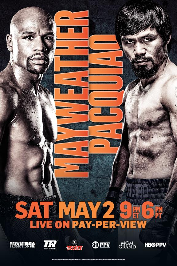 Fight Poster - Mayweather-Pacquaio additional design.
