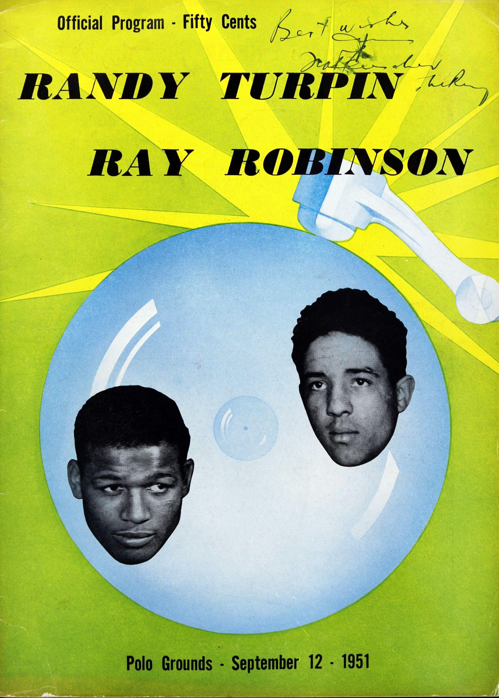 March Robinson-Turpin Program.