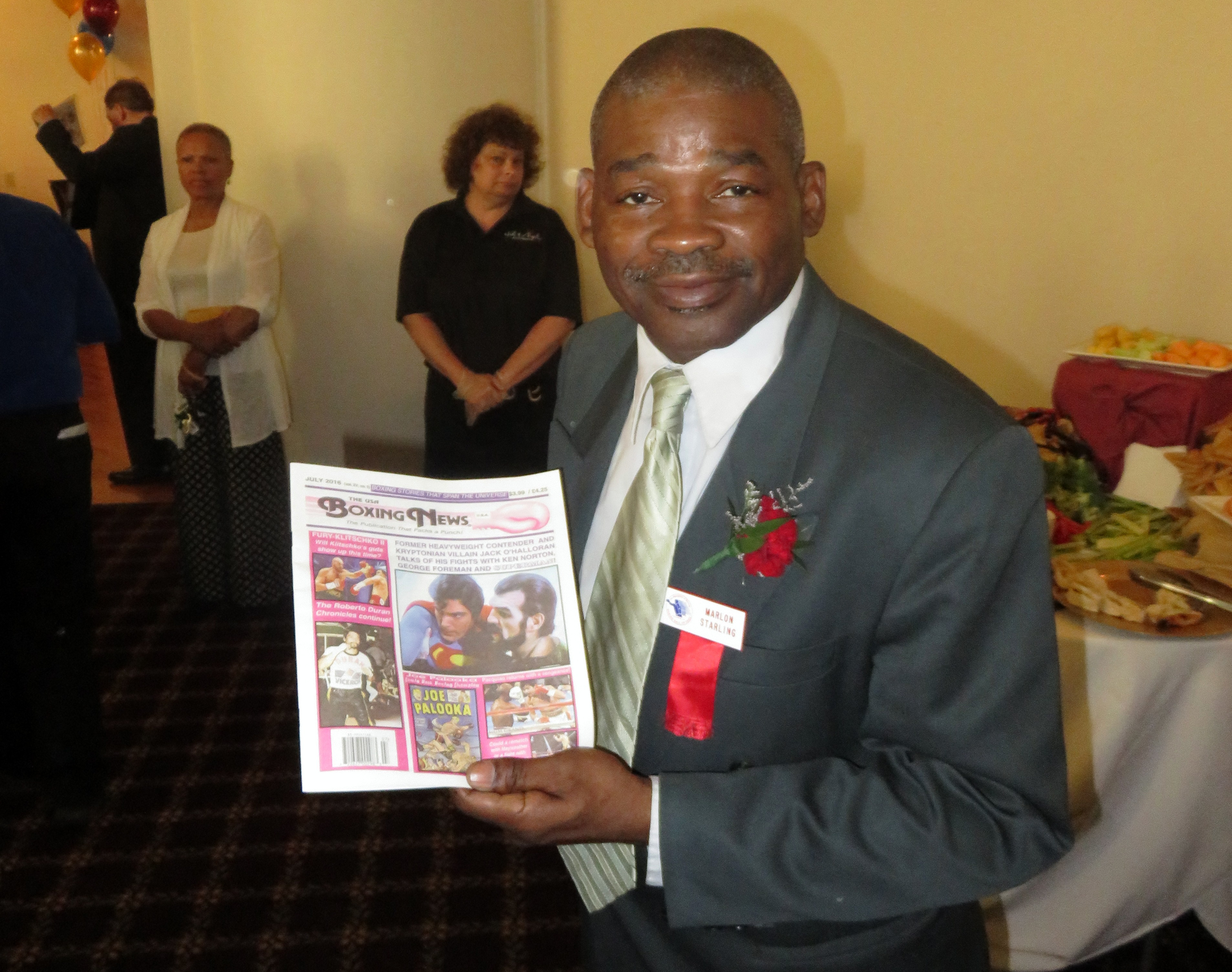 FINALThe USA Boxing News with former WBA welterweight chamion of the world Marlon (Magic Man) Starling.