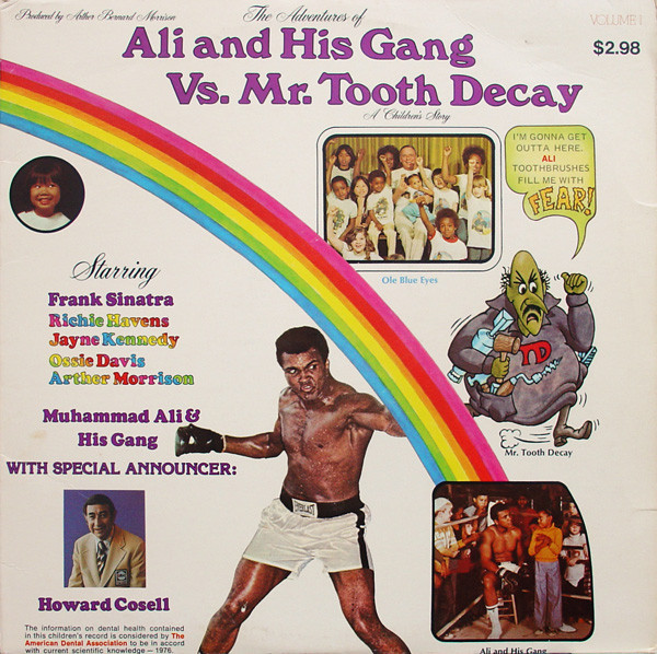 Muhammad Ali Tooth Decay Ad.Muhammad Ali vs. Cooper I poster. (CLICK PHOTO TO VIEW VIDEO)