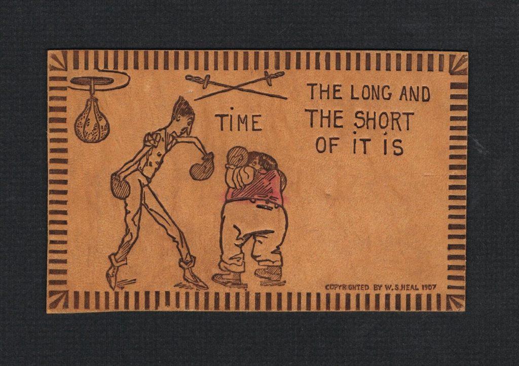 Boxing Cartoon - 1907.