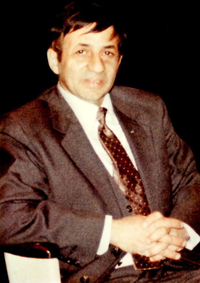 Joseph Rinaldi ringside at the first Roberto Duran-Sugar Ray Leonard fight in Montreal in 1980.
