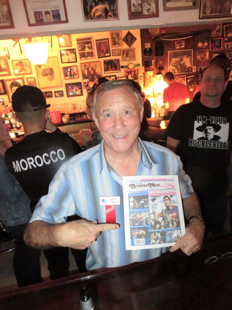 Former Welterweight Champion John Stracey