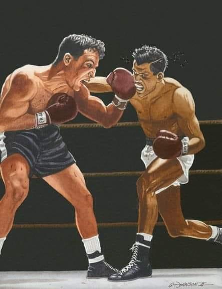 Jake Lamotta vs Sugar Ray Robinson