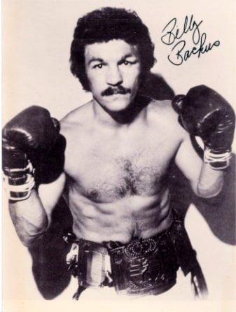 Welterweight Champion Billy Backus