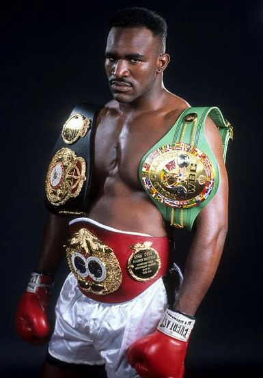 """Undisputed Champion Evander """"The Real Deal"""" Holyfield."""