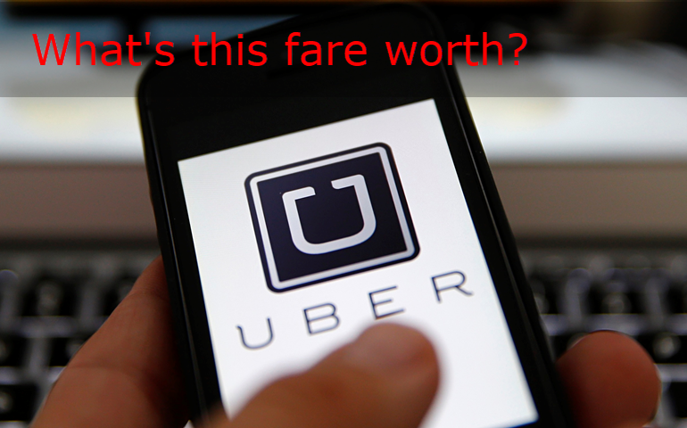 Uber Drivers to Set Fares?