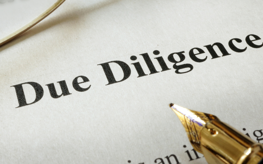 When Is Due Diligence Complete?
