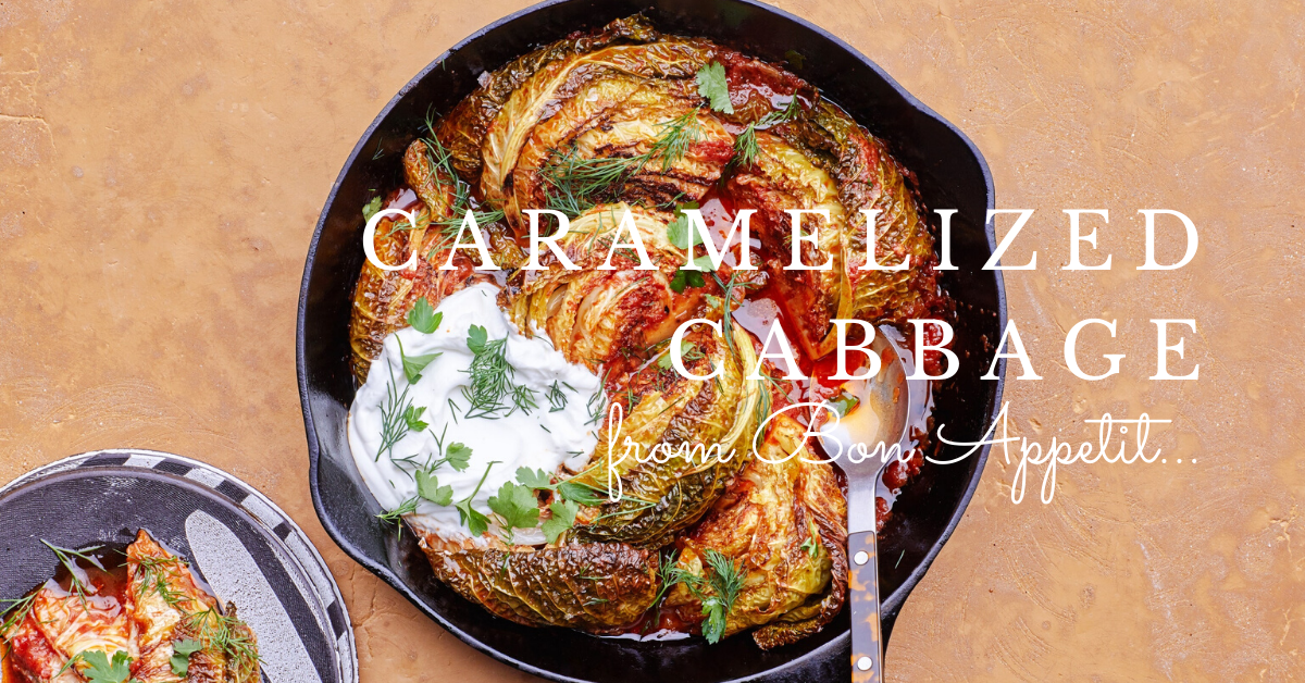 Carmaelized Cabbage