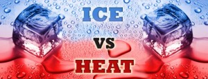 ice vs heat