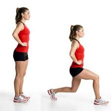 proper form for doing lunges