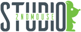2nd Mouse Venture Inc, Gaming Studio  Logo