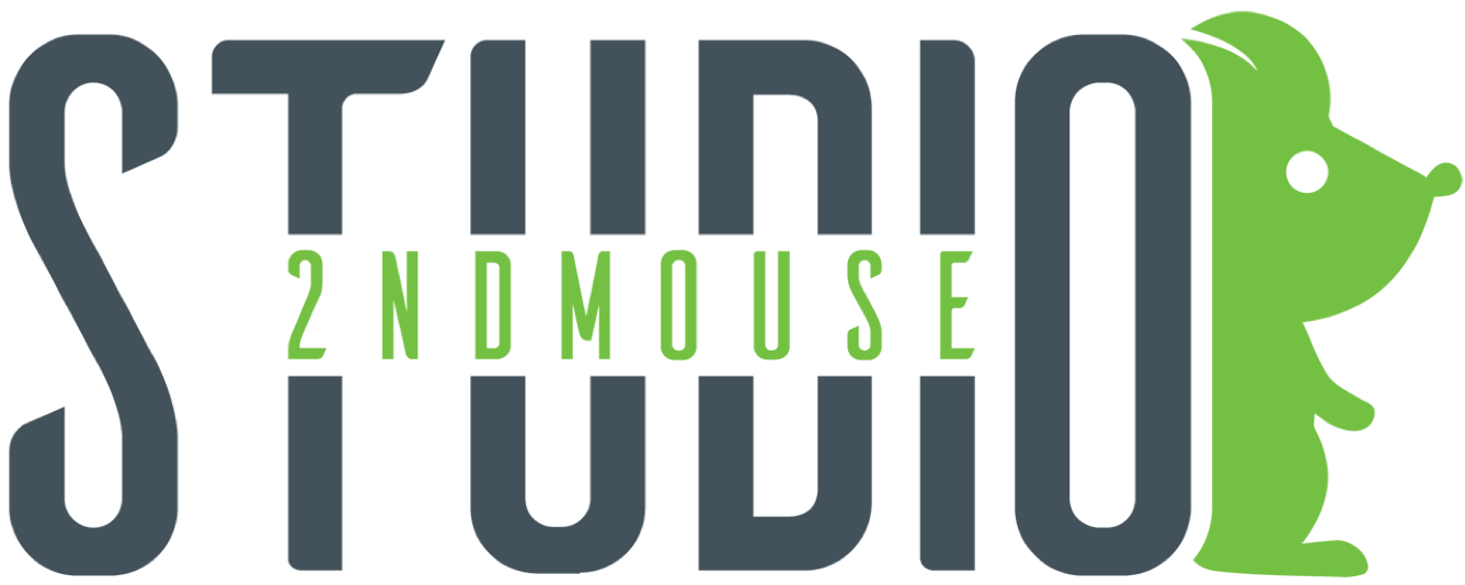 2nd Mouse Venture Inc, Gaming Studio Retina Logo