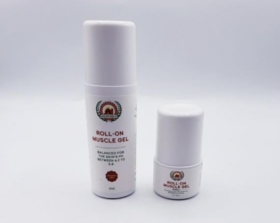 Hemp muscle gel roll-on – 500 mg & 1500 mg