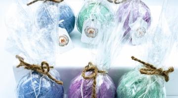 Buy scented hemp bath bombs online
