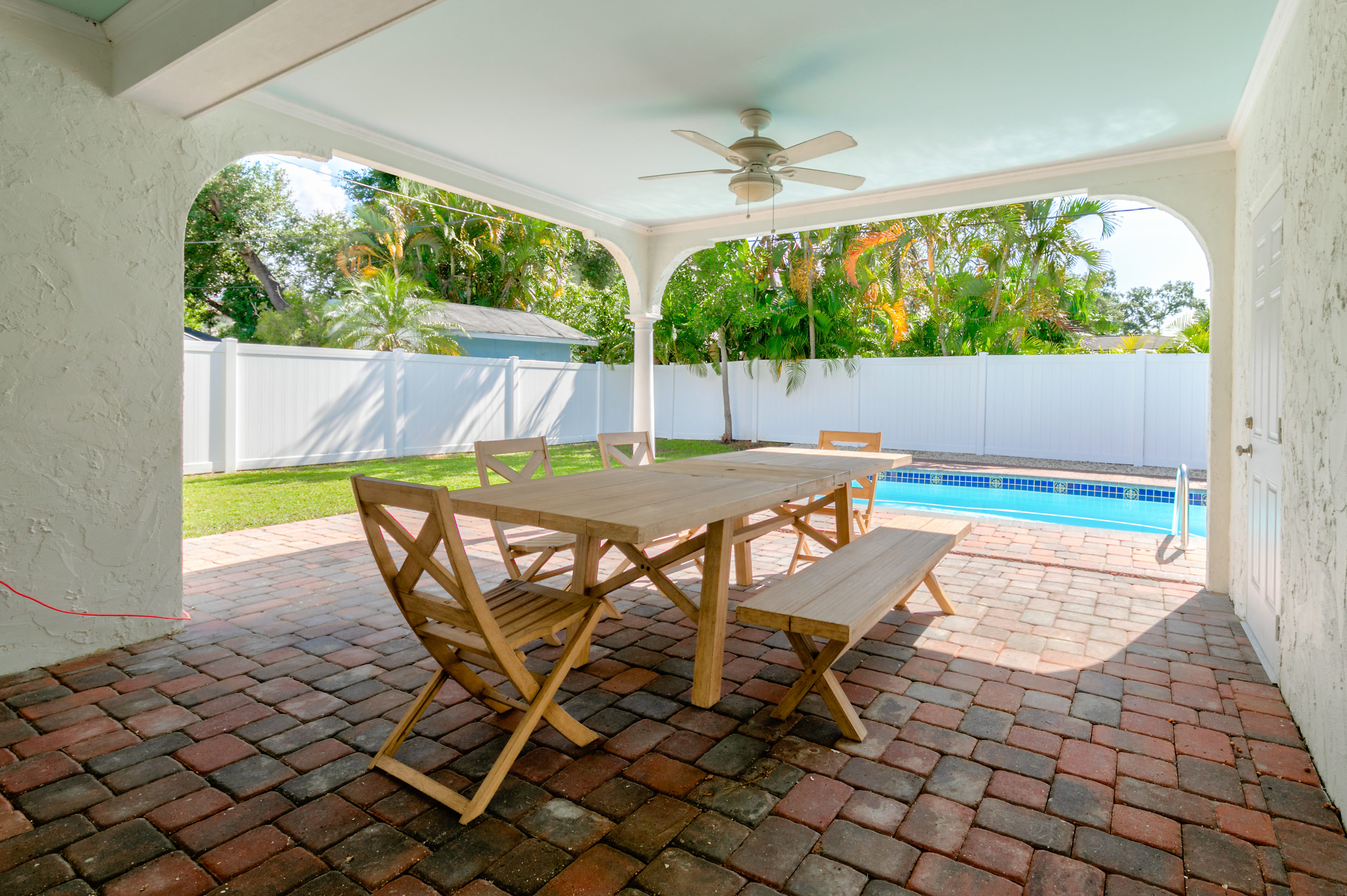 Covered-Pool-Patio-409-Erie-Davis-Islands-Home-for-Sale