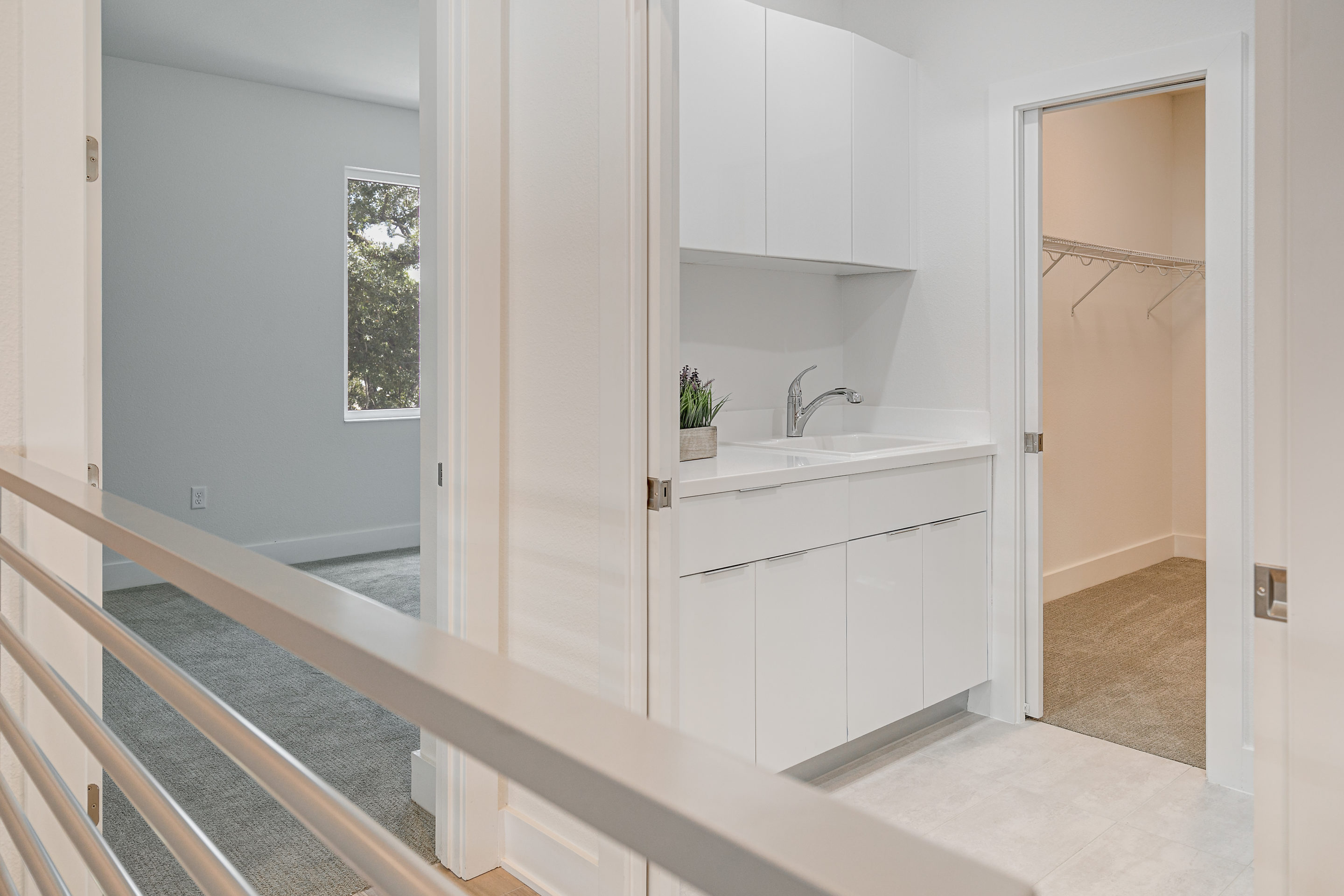 Laundry Room with Connection to Master Bedroom