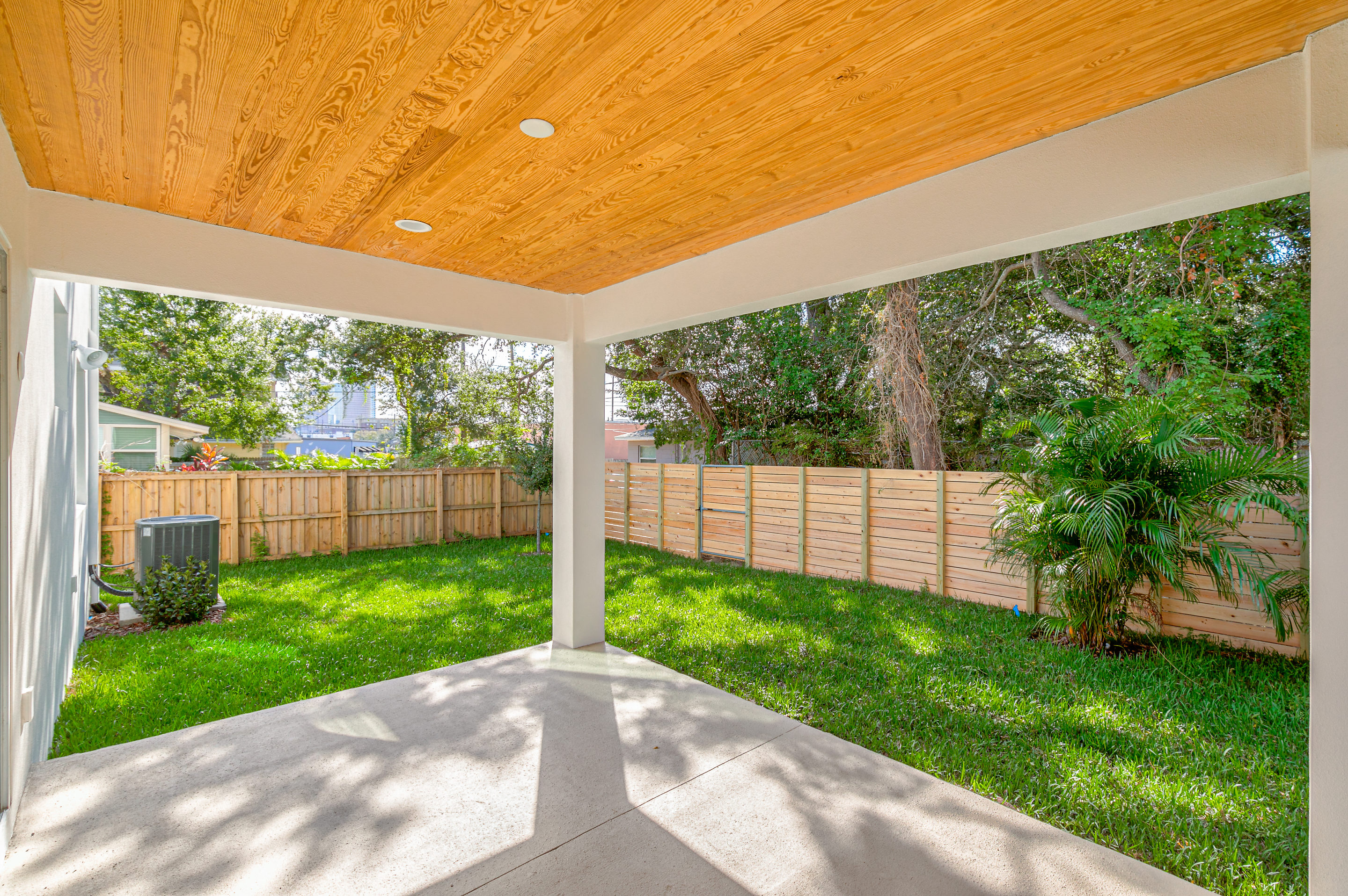 Outdoor Space with City of Tampa Views North Hyde Park Real Estate