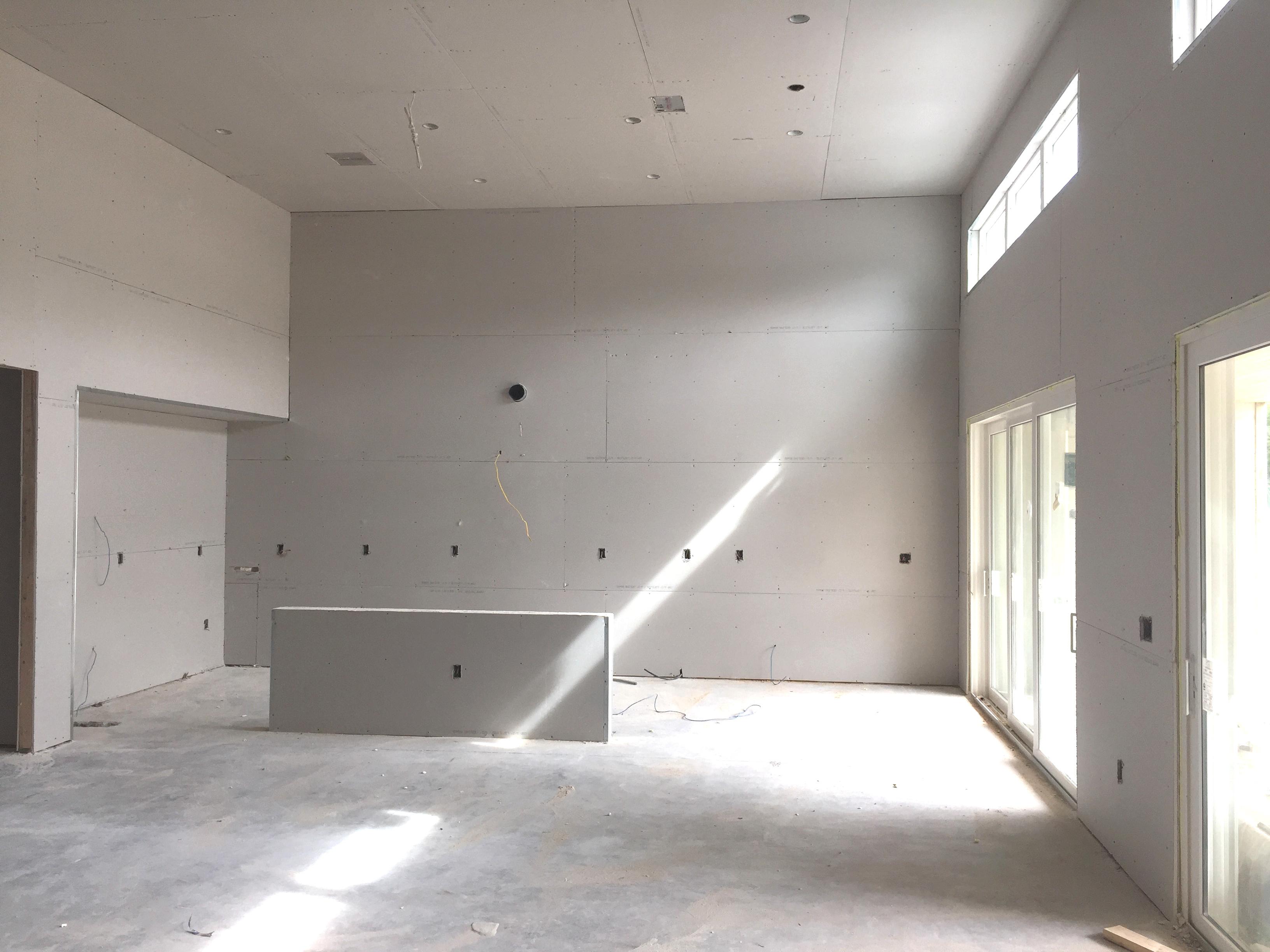 Under Construction Great Room
