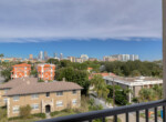 91 Davis Blvd Condo City Views from Balcony Cristan Fadal Davis Islands Real Estate