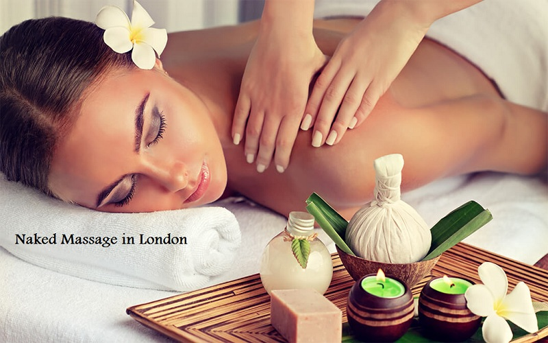 naked massage in London