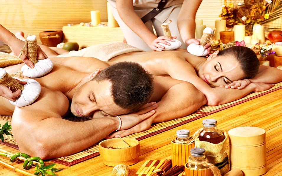 couple massage in London