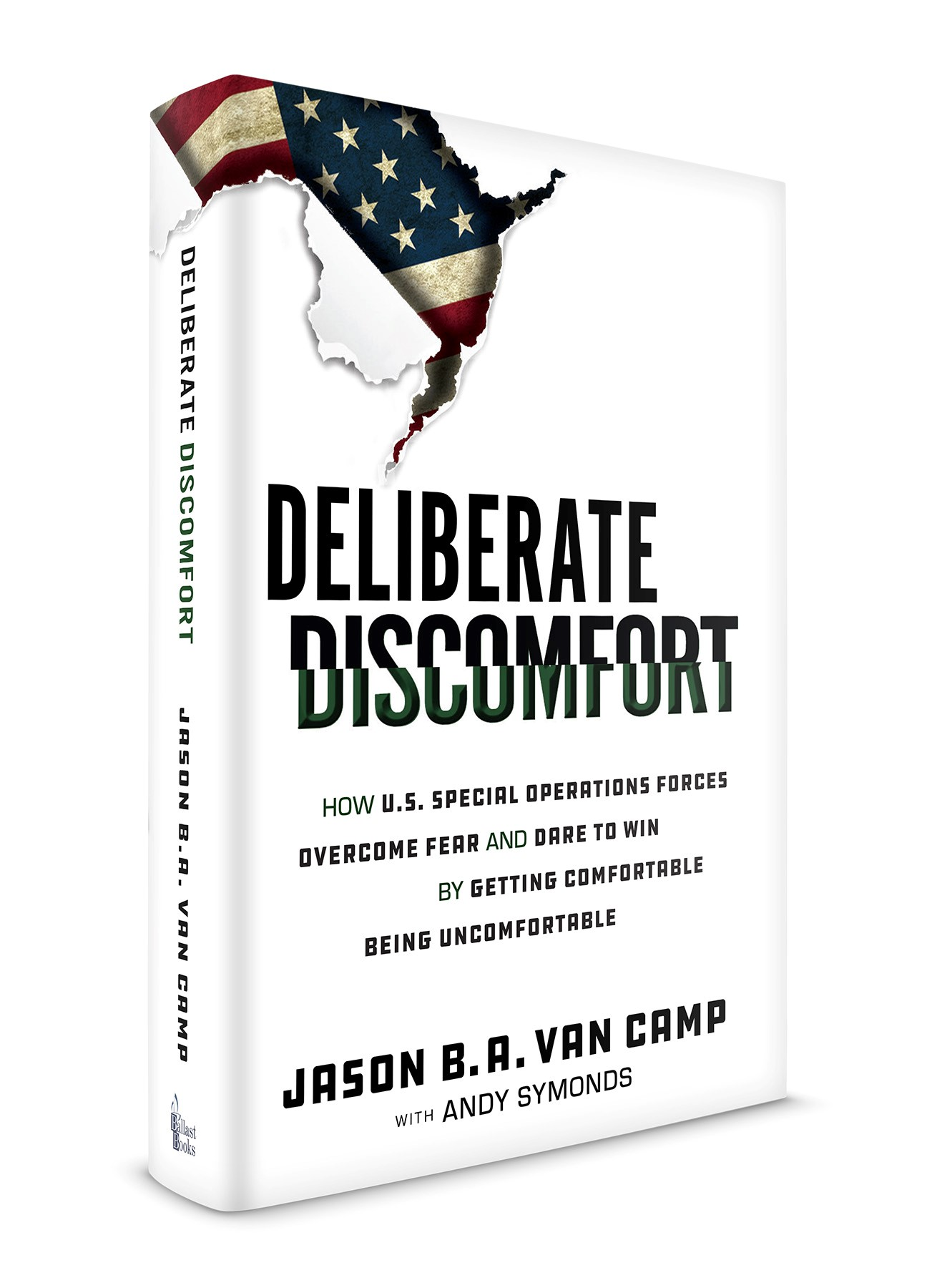 Deliberate Discomfort 3D cover
