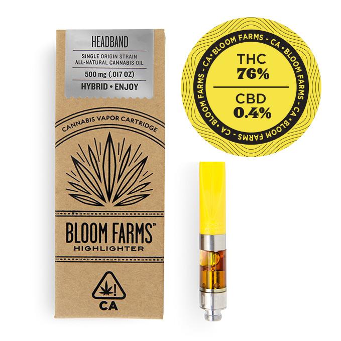 Bloom Farms Headband Vape Cartridge