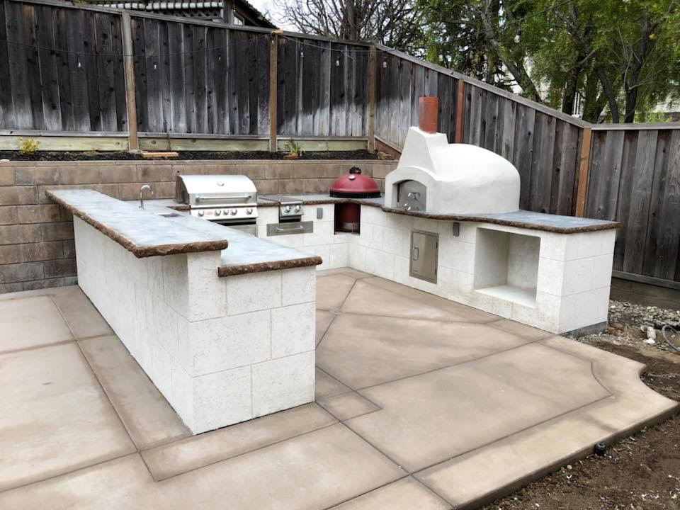 Adding an outdoor kitchen will open up a variety of entertaining options