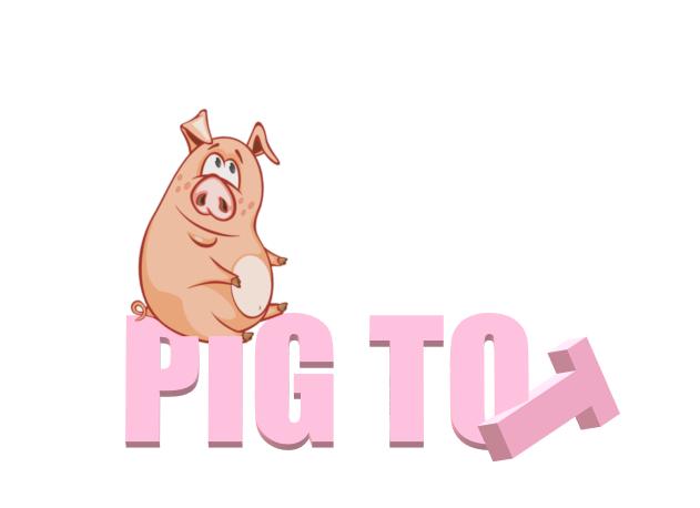 This Little Piggy Won't Clean His Room 🐷 #PigTot